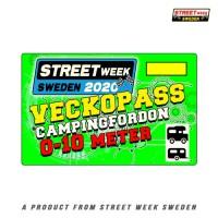 Veckopass Campingfordon 0-10m